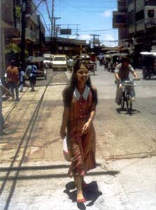 Photo of Emelda in downtown Ozamiz